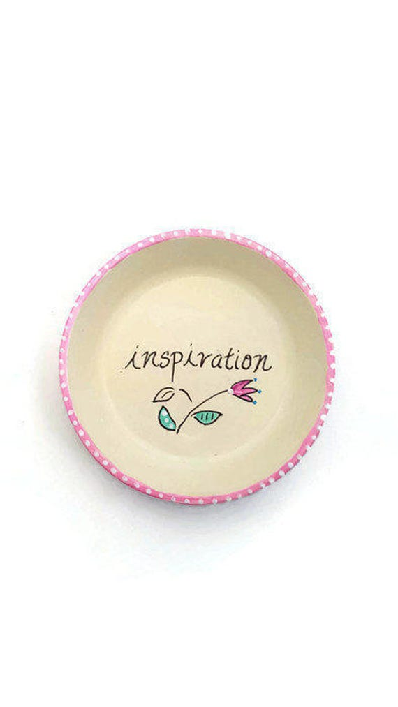 INSPIRATION - Hand Designed Jewelry Dish
