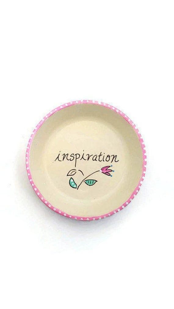 INSPIRATION - Hand Designed Jewelry Dish