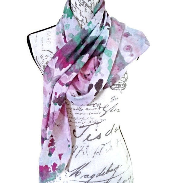 MULBERRY - Hand Designed Bamboo Rayon Scarf