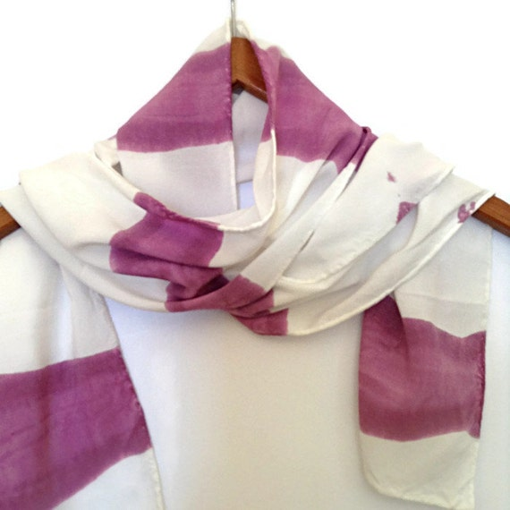 BERRY DELIGHT - Hand Designed Bamboo Rayon Scarf