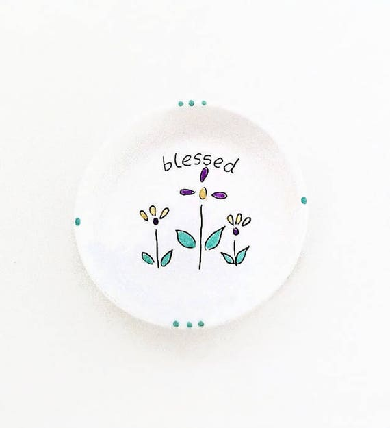 BLESSINGS - Hand Designed Jewelry Dish