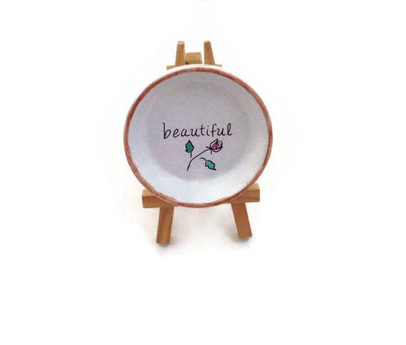 BEAUTIFUL YOU - Hand Designed Jewelry Dish