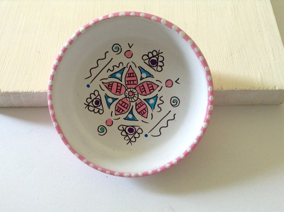 PINK CANDY - Hand Designed Jewelry Dish