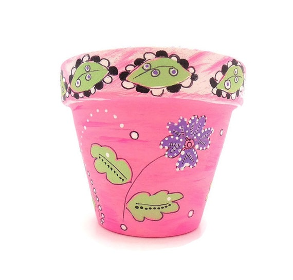 BEAUTIFUL DREAMER - Hand Designed Plant Pot