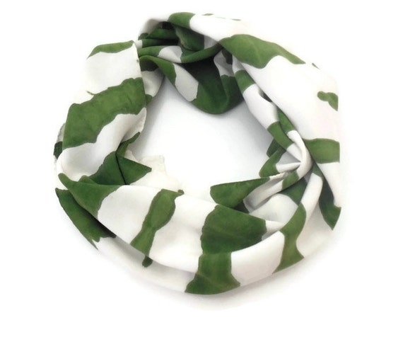 EVERGREEN - Hand Designed Bamboo Rayon Scarf