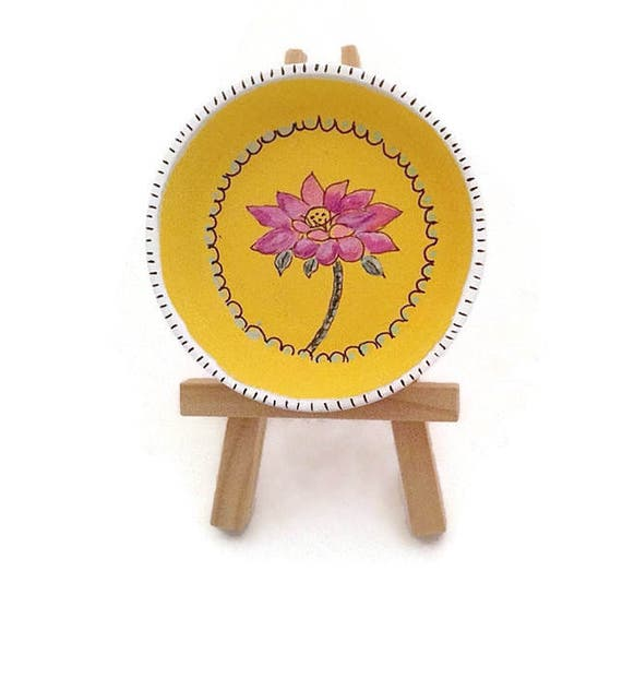 LOTUS BEAUTY - Hand Designed Jewelry Dish