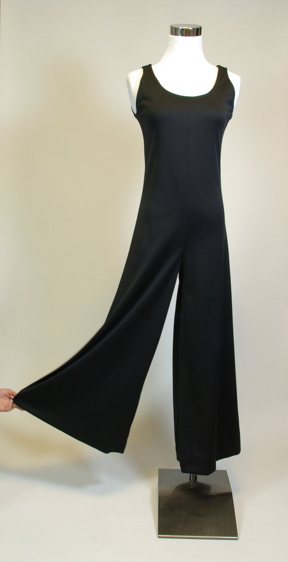 Palazzo Pants Jumpsuit Sleeveless Scoop Neck Onesi