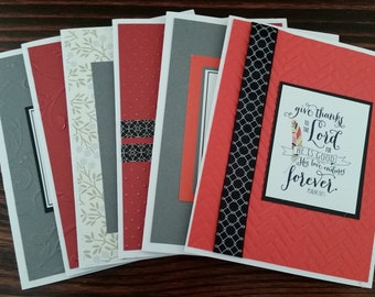 Scripture Note Cards, Embossed Encouragement Note Cards, Faith Note Cards, Bible Verse Cards