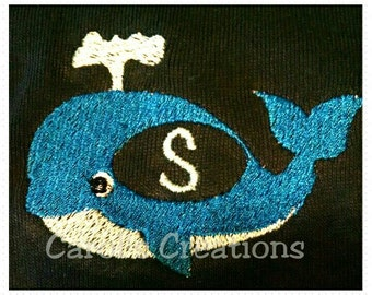 Instant Download,whale embroidery,whale,whale monogram,whale download design,digital download/embroidery designs