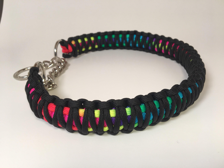 Paracord King Cobra Martingale Dog Collar Tie Dye Etsy