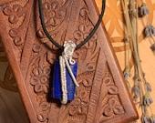 Third Eye Chakra Pendant: Lapis Lazuli and Labradorite for Psychic Enhancement