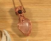 Stabilizing & Loving Energies: Rose quartz with Brecciated Jasper