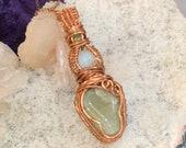 Heart Chakra Goddess-Shaped Pendant: Joy and Abundance