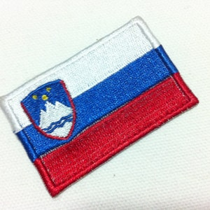 Myanmar Flag World Flag 6 x 4 cm FL Embroidered Applique Iron on Patch