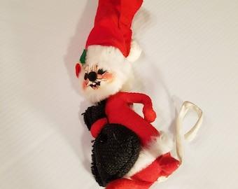 vintage annalee mobilitee santa mouse christmas mouse christmas decorations collectible - Annalee Christmas Decorations