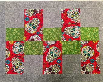 4 Day of the Dead Placemats