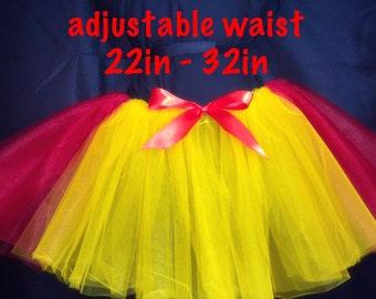 Free shipping!!! Girls adjustable waist tutu