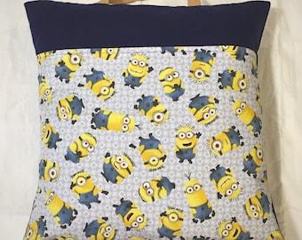 Minions Print Travel Pillowcase 18 X 18 inches
