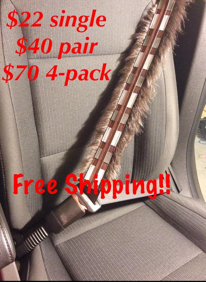 Free Shipping StarWars Inspired Chewbacca Seat Belt/Guitar image 0