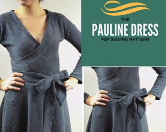 Pauline dress pattern and tutorial: Instant PDF sewing pattern to download