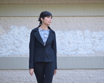 Santiago Jacket:  PDF Sewing Pattern and Tutorial