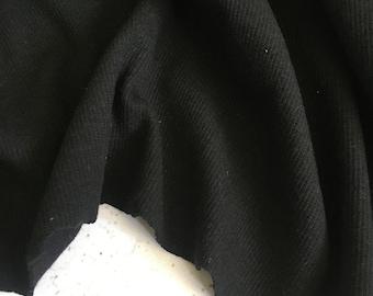 Organic cotton waffle stretch 2X2 RIB in Light Grey