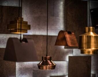 NOVA BELL Pendant lamp light in industrial restoration style black antique copper egst