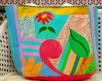 FANTASY Custom bag Hand Painted Bag shopping bag beach bag walking bag