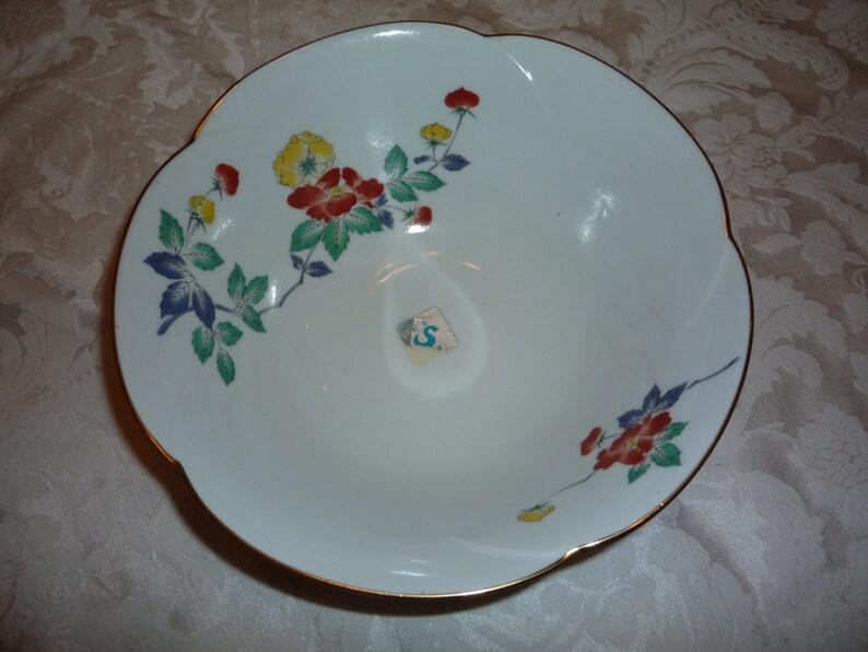 Asian Themed Porcelain Bowl