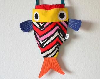 Chicharros, mochila en forma de pez. Mochila de pez para niños - Divertido regalo para niños - Costurilla Compra por adelantado