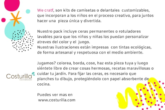 Pack Camisetas Para Colorear Dos Camiseta Con Rotuladores Regalo Para Niños Manualidades Niños We Craft Animales Marinos