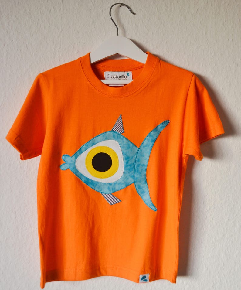 880357e0d Camisetas de peces. Camiseta fula. Pez. Fauna marina.