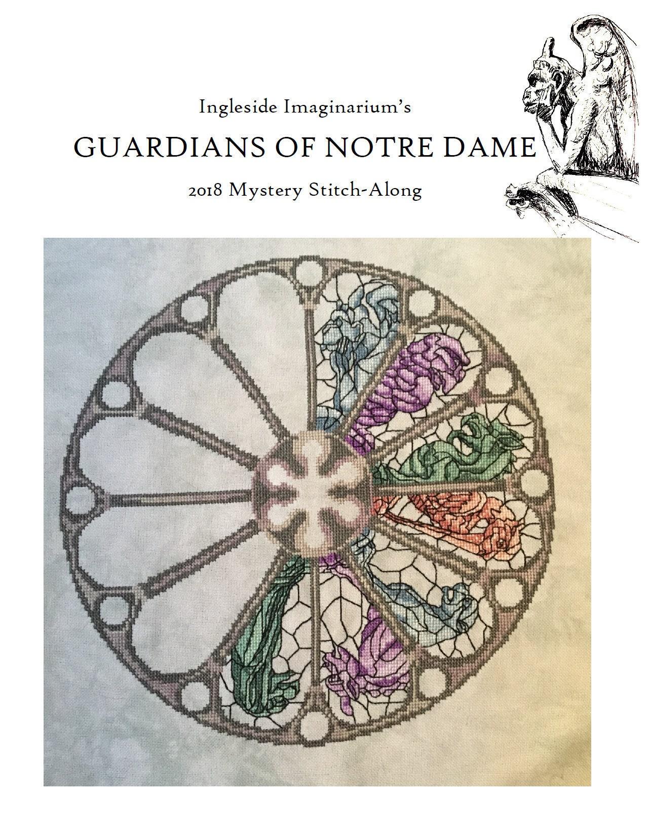 Guardians of Notre Dame Mystery Stitch-Along Cross Stitch