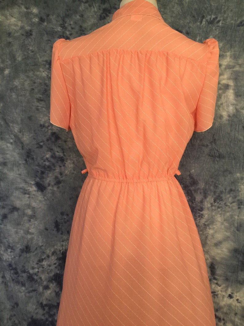 Peach Vintage Dress