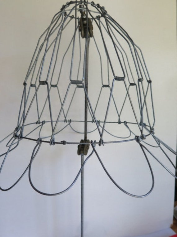 Wire Lampshade Folding Wire Lampshade Handmade Wire