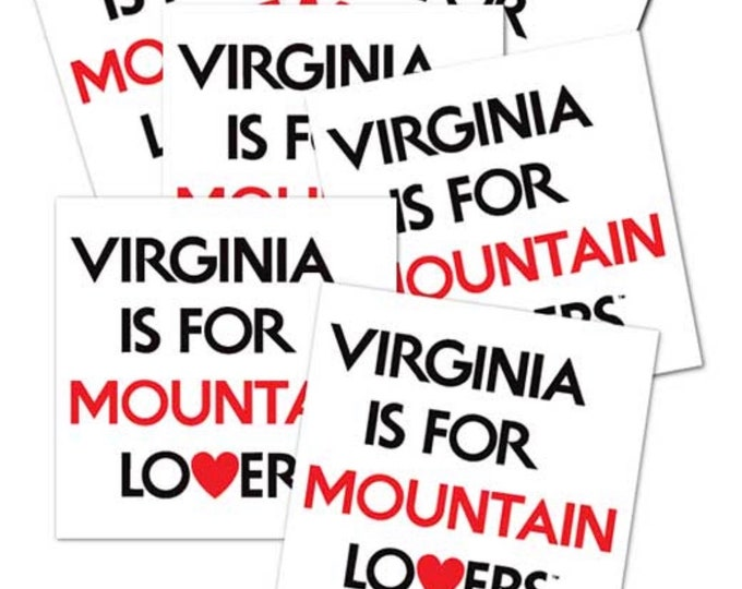 Mountain Lovers Decal - Virginia is for Lovers ®