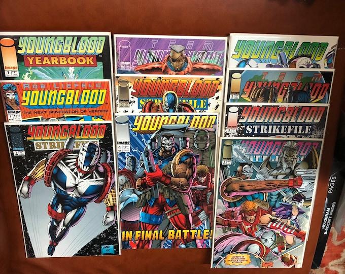 1992 1993 1994 Youngblood Comics - 10 books