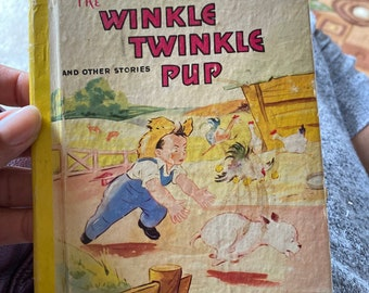 1941 The Winkle Twinkle Pup book