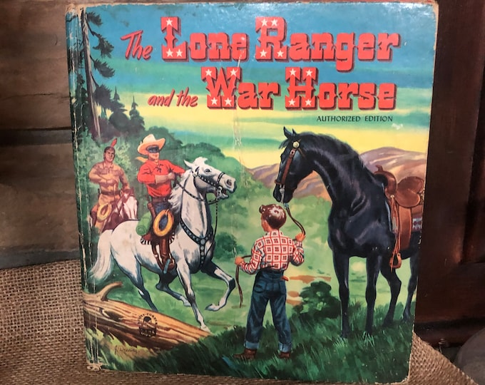 1951 The Lone Ranger and the War Horse