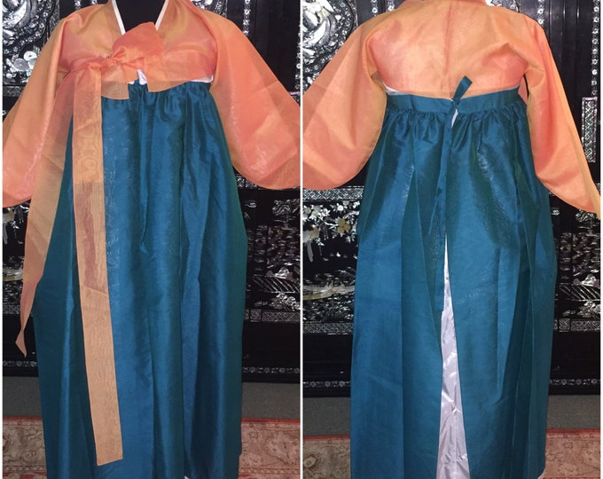 Korean Hanbok 5pc. Chima, Paji, Cheogori (women's US small)