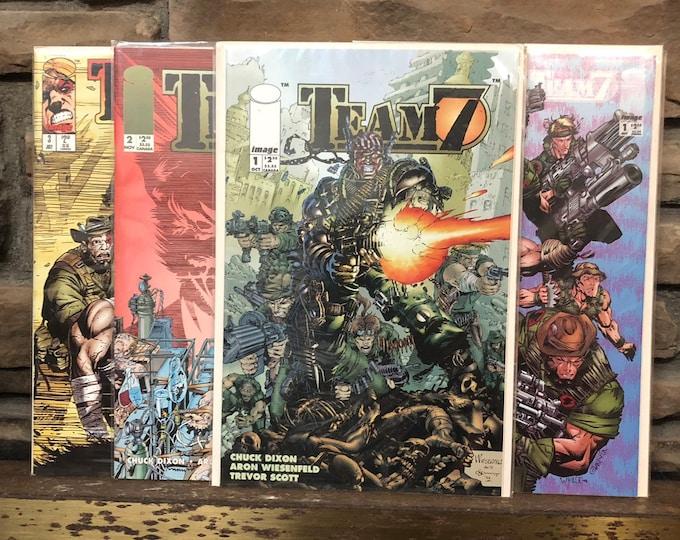 "Oct. Nov. 1994 ""Team 7"" Origin Part #1-3"