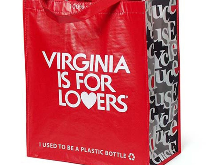 100% Recycled Laminated Tote - Virginia is for Lovers ®