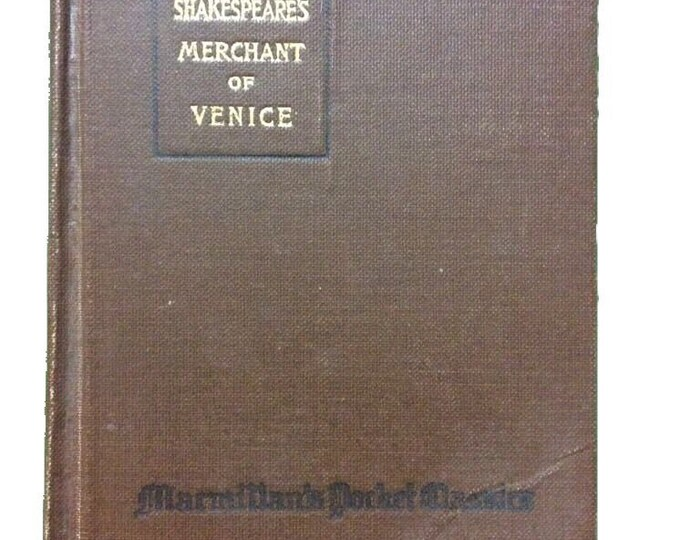 1919 MERCHANT OF VENICE Shakespeare