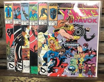 "1989 Marvel presents ""the X-Men's Havok"" #26 - #31"