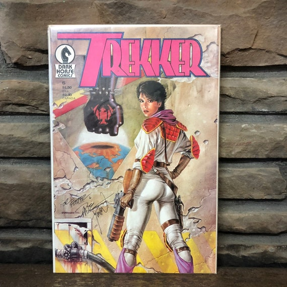 "MAR. 1988 Signed ""Trekker"" Comic and 1993 MUG"