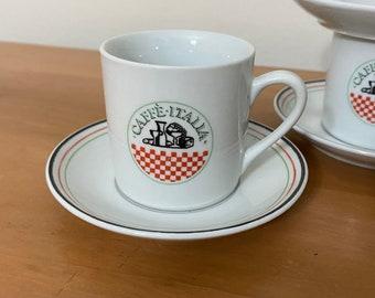 1990's Cafe Italia Espresso Set