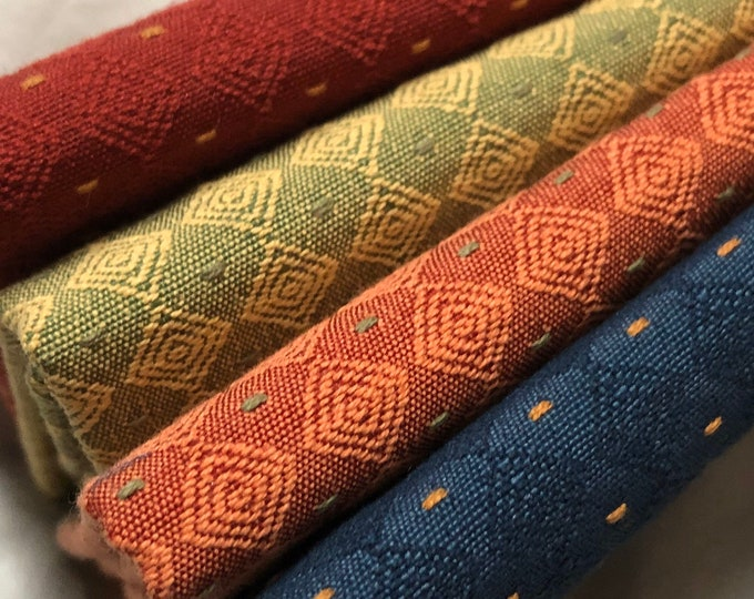 4-pc. fabric swatches