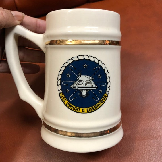"USS Eisenhower 69 ""IKE"" Collector's Mug"