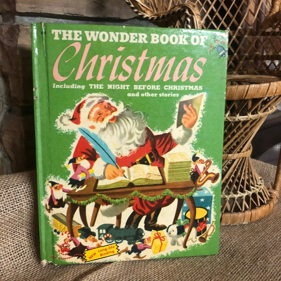 1951 The Wonder Book of Christmas