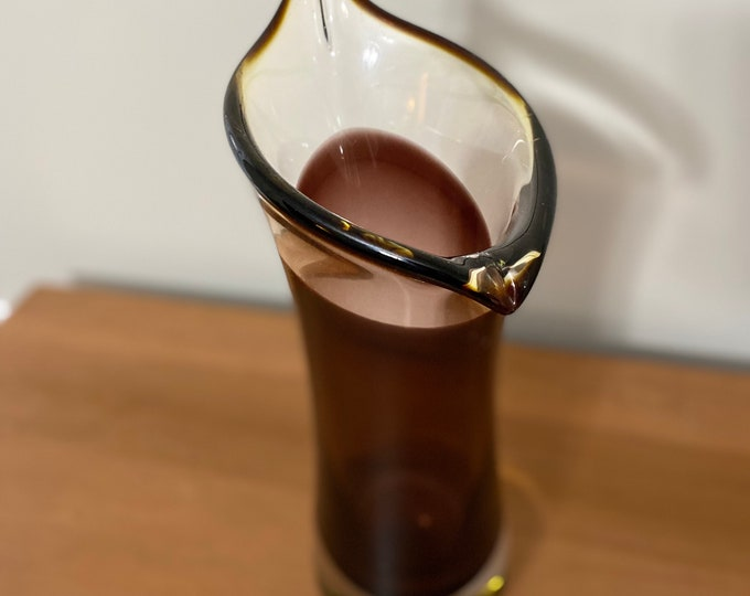 1990's Amethyst Glass Vase